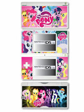 Cover e adesivi multicolori con console per videogiochi e console nintendo DS