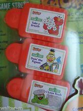 Elmo + Bert + Grouch ~ SESAME STREET ~ 3 pack KID CLIPS music song
