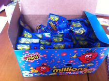 Strawberry Millions Mini Tubes X30 Retro Sweets Vegetarian Approved