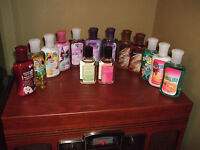 BATH & BODY WORKS TRAVEL SIZE BODY LOTION OR SHOWER GEL - CHOOSE WHAT YOU WANT