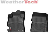 WeatherTech Floor Mats FloorLiner for Nissan Versa - 2012-2018 - 1st Row - Black