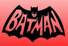 BATMAN Die Cut Window Sticker Decal Old Skool TV Series