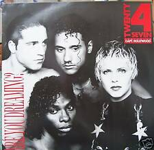 "TWENTY 4 SEVEN ~ Are You Dreaming ~ 12"" Single PS"