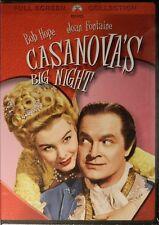 CASANOVA's BIG NIGHT (1954) Bob Hope Joan Fontaine Basil Rathbone Audrey Dalton