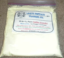 1 US pound 99.5% Pure USA Sulfur Powder lab grade Natural Pesticide