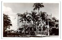 1948 RPPC Mayflower Hotel, Palm Beach, FL Real Photo Postcard