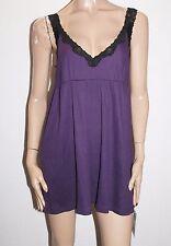 UCW Designer Purple Karen Baby Doll Night Dress Size 12-M BNWT #SR19