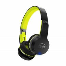 Monster iSport Freedom Bluetooth Wireless On-Ear Headphones v2 - Black/Green