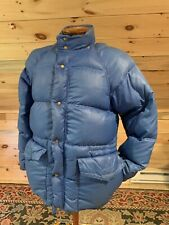 Vintage 1970s KREEGER & SON Made in NYC, USA Classic Down Puffer Coat Men's S