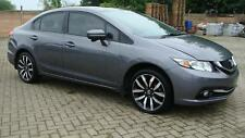 14 HONDA CIVIC NEW SHAPE LEFT HAND DRIVE LHD SILVER AUTOMATIC AIRCON LEATHER