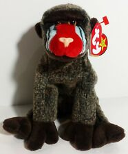 """TY Beanie Babies """"CHEEKS"""" the BABOON - MWMTs! RETIRED! GREAT GIFT! A MUST HAVE!"""