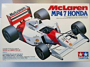Tamiya 1:20 Scale McLaren MP4/7 Honda Model Kit - New - Kit # 20035 Senna Berger