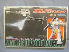 "Transformers G1 ""UNCLE MEGATRON"" Walther P-38 Complete w/Box U.N.C.L.E."