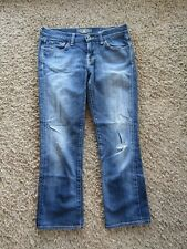 Lucky Brand Sweet' N Straight Crop Med Wash Women's Jeans Pants Size 4/27