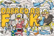 TROG - DABBED AS F*CK - SMOKING POSTER 24x36 - WEED POT MARIJUANA 3186