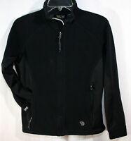 Mountain Hardwear Womens fleece Jacket X Small XS Black