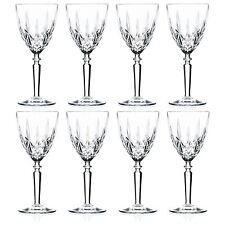 Crystal Wine Glasses Red White Drinking Glass, 290ml - RCR Orchestra - Set of 8
