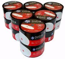 600 HP Blank DVD-R DVDR White Inkjet Printable 16X 4.7GB Disc FREE EXPEDITED