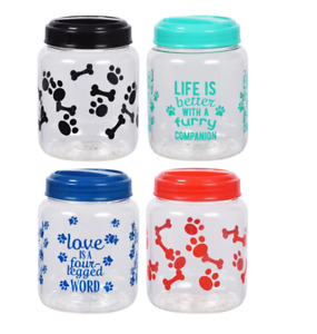 BPA-Free Plastic Airtight Cat and Dog Pet Treat & Food Storage Containers Choice