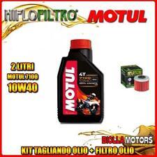 KIT TAGLIANDO 2LT OLIO MOTUL 7100 10W40 HONDA CRF450 R-3,4,5,6,7,8 450CC 2003-20