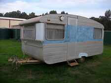 1960'S KARONG VINTAGE RETRO CARAVAN FARM FRESH. IN SHED FOR 30 YEARS