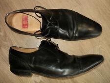 Barker Black Calf Leather 'Brixton' Derby Shoes 11 UK