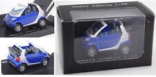 Siku Super 1042 Smart Fortwo convertible, True Blue/plata, aprox. 1:50, werbeschachtel