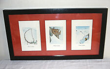 SAMIVEL - 3 Framed & Mounted Humorous Alpine Images