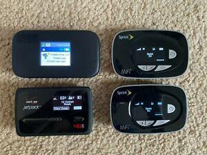 4x LTE MiFi Hotspots - Sprint, Verizon Mobile Hotspot Novatel Netgear - AS IS