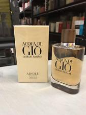 Giorgio Armani Acqua Di Gio Absolu 4.2oz 125ml Eau de Parfum for Men original