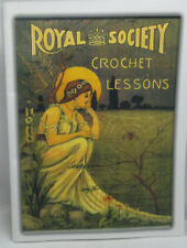 Yesterdazes Royal Society Crochet Lessons Pattern & instruction Book Repo