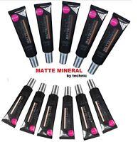 Technic Matte Mineral Foundation Full Coverage Make Up | Light Medium Dark Skin