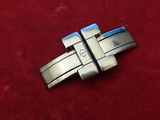 BAUME MERCIER SOLID STEEL FORMULAR S 18MM LINK BAND BRACELET STRAP BUCKLE