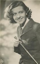 Lisette Lanvin Vintage silver print Tirage argentique  9x12  Circa 1932
