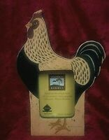 COUNTRY COLLECTIBLE FETCO WHITEBACK WARREN KIMBLE CHICKEN PICTURE FRAME
