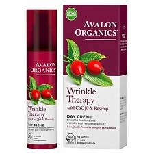 Avalon Organics Wrinkle Therapy Day Cream With Coq10 & Rosehip 50g