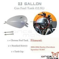 3.3 Gallon Replacement Efi Fuel Gas Tank For 2004-2006 Harley Sportster XL 883