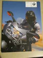 CATALOGUE MOTO : BMW : K 1200 S   08/2004