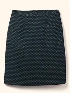 EX FatFace Black Mix Jennie Geo Jacquard Skirt Sizes 10, 12, 14 RRP £39.50