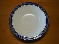 "Mikasa Potter's Touch AZTEC BLUE CB009 Serving Vegetable Bowl 10""   3 available"