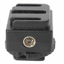 Adattatore slitta canalina flash Canon Sony Nikon hot shoe fotocamera fotocamere