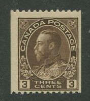 CANADA #134 MINT F/VF
