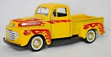 Maisto 1948 Ford F1 Pickup Truck 1/25 Replica Die-Cast Flames Red & Yellow