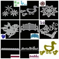 Home Metal Cutting Dies Stencil Scrapbooking Album Paper Card Embossing Craft GT