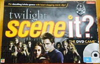 NEW Twilight Scene it? DVD Factory Sealed 2009 Movie Clips Trivia Board Game