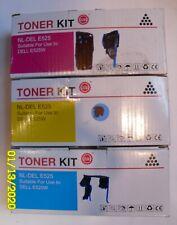 Toner Kit -NL-Del E525 For Use Dell E525W 3 Colors  Yellow, Blue, Magenta?