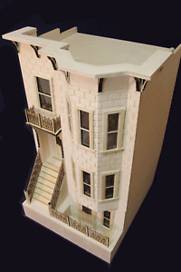 Park Avenue 1 Inch Scale Dollhouse Kit By Majestic Mansions