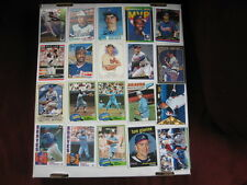 Lot of 20 Atlanta Braves baseball cards. 1970s-present, chrome, HOF