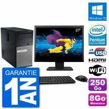 PC de bureau avec windows 10 pour 8 Go maximale de la ram