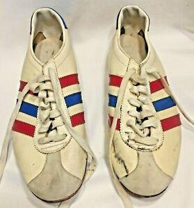 Vintage Adidas Original Antelope Leather Tricolor Sneakers Women US 8.5